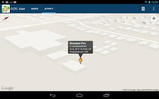 Screenshot of OCFL Alert