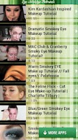 Screenshot of Eye Makeup Tutorials
