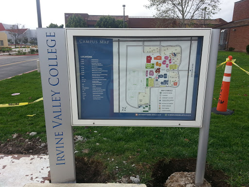 Irvine Valley College Campus Map B300 Portal in The Meadows ...