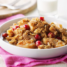 Shreddies Pear-Cranberry Crisp