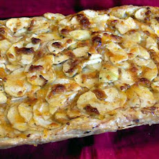 Cheddar Crust Apple Tart