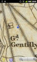 Screenshot of Offline GPS Paris 1832