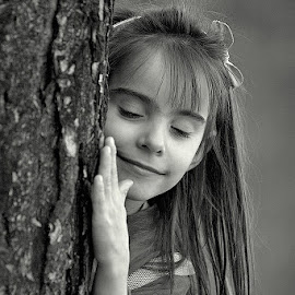 small stop ... by Katka Kozáková - Babies & Children Child Portraits ( child, tree, peace, relaxation, natural energy )
