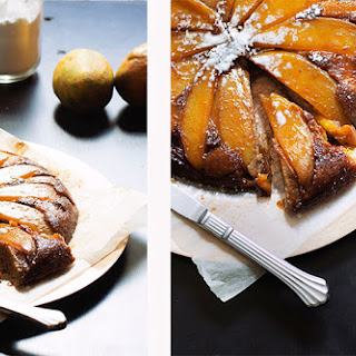 Upside-Down Mango Banana Cake