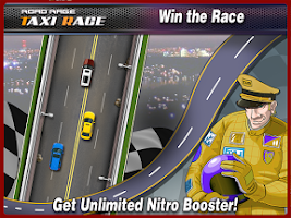 Screenshot of Taxi road rage