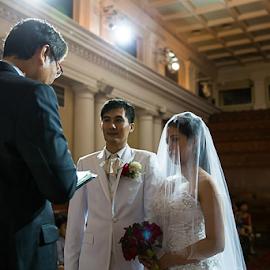 I do... by Irwan Foo - Wedding Ceremony