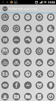 Screenshot of Holler! blk Icon Pack