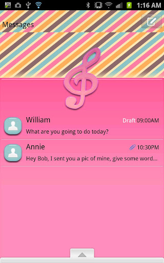 GO SMS - Musical Talent