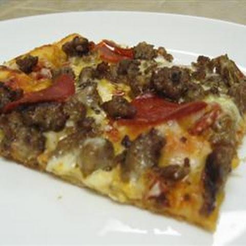 Thin Crust Pizza Dough All Purpose Flour Recipes | Yummly