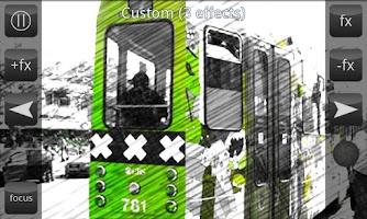 Screenshot of Live FX Camera effects Full