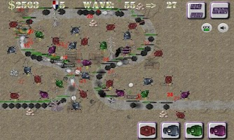 Screenshot of Turret Defense FREE