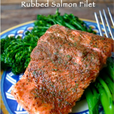 Sweet Chili Rubbed Salmon Filets