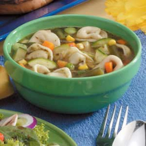 Tomato-Free Tortelloni Minestrone Recipes — Dishmaps