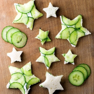 Chive Cream Cheese And Cucumber Sandwiches Recipes