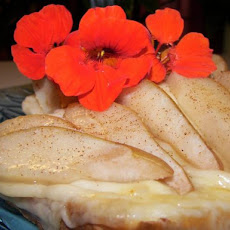 Broiled Pear and Swiss Cheese Sandwich