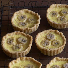 Banana Custard Tarts