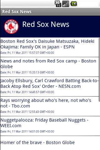 red-sox-news for android screenshot