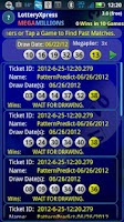 Screenshot of Lottery Xpress Megamillions
