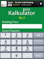 Screenshot of Kalkulator KPR
