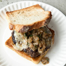 Buttered-Toast Swiss Patty Burgers