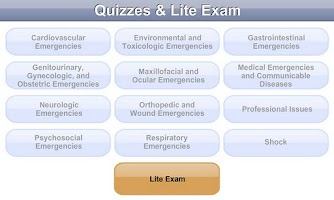 Screenshot of Mosby's CEN® Exam Prep Lite