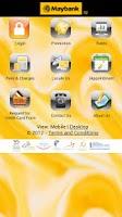 Screenshot of M2U Mobile