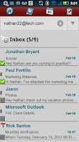 Screenshot of Hotmail ActiveSync Phone