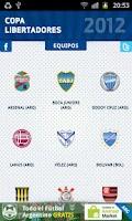 Screenshot of Copa Libertadores 2012