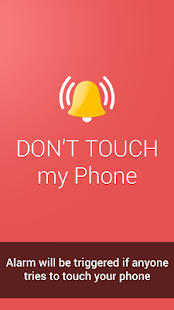 Don't Touch My Phone APK for Bluestacks