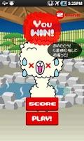 Screenshot of Cute Alpaca1-2-3! (4wins)