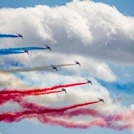 Patrouille de France by Ian Cramman - Transportation Airplanes ( le bourget, paris, aircraft, patrouille de france, airshow )