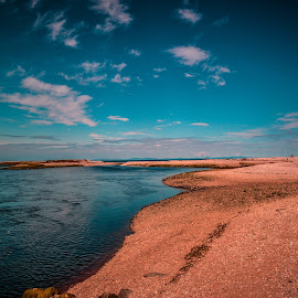 Speyside Beach by Stuart Lilley - Landscapes Beaches ( scotland, beach, landscapes, landscape, filter, river,  )