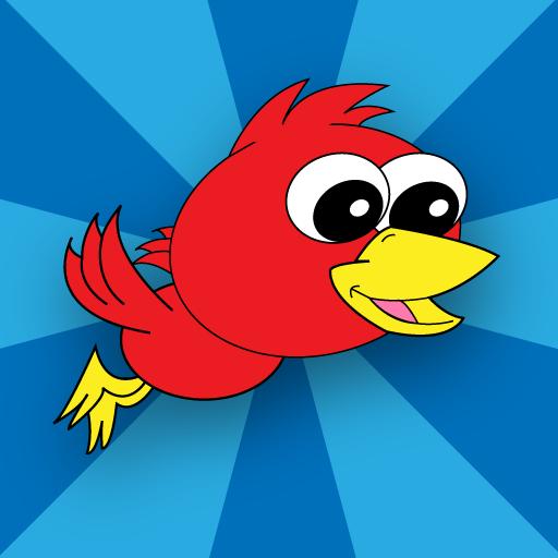 Flutter Bird LOGO-APP點子