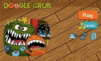 Screenshot of Doodle Grub Christmas Edition