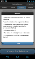 Screenshot of Loteria Escaner sorteos LAE