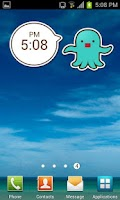 Screenshot of StarPet Clock Widget - Mint mi