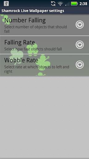 【免費個人化App】Live Wallpaper Shamrocks-APP點子