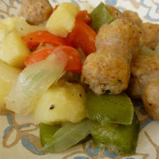 Sausage, Pepper and Potato Skillet