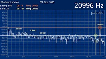 Screenshot of Speedy Spectrum Analyzer