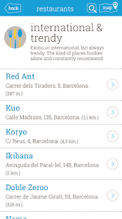Barcelona Punto Guide - screenshot