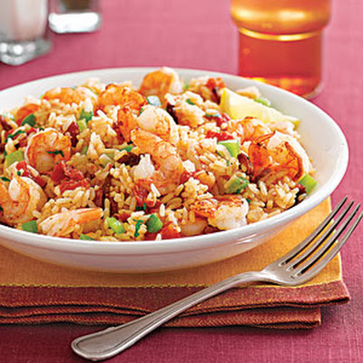 Skillet Shrimp and Rice