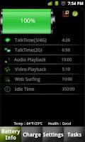 Screenshot of Battery Dr saver+a task killer