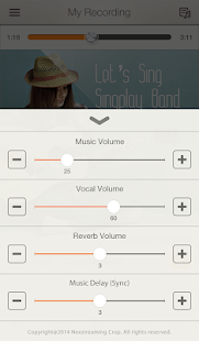 App SingPlay: Karaoke your MP3s APK for Kindle