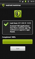 Screenshot of Android Antivirus