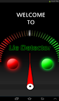 Screenshot of Lie detector - Test it