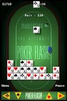 Screenshot of Poker Flash Lite !