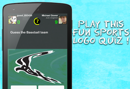 Sports Logo Quiz - screenshot