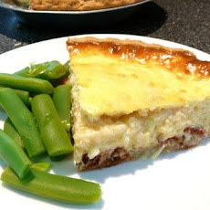 Easy Bacon and Cheese Quiche