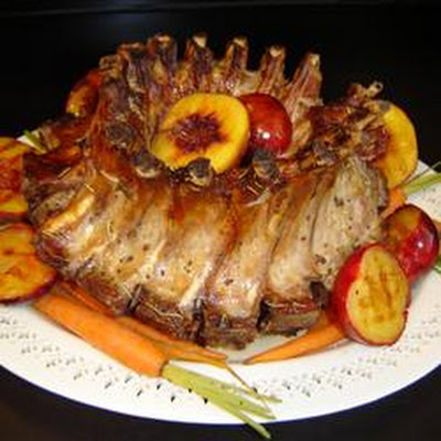 Special Occasion Stuffed Crown Pork Roast