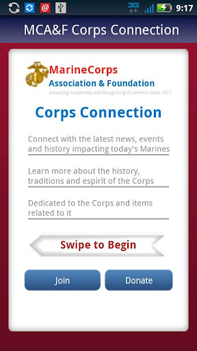 MCA F Corps Connection